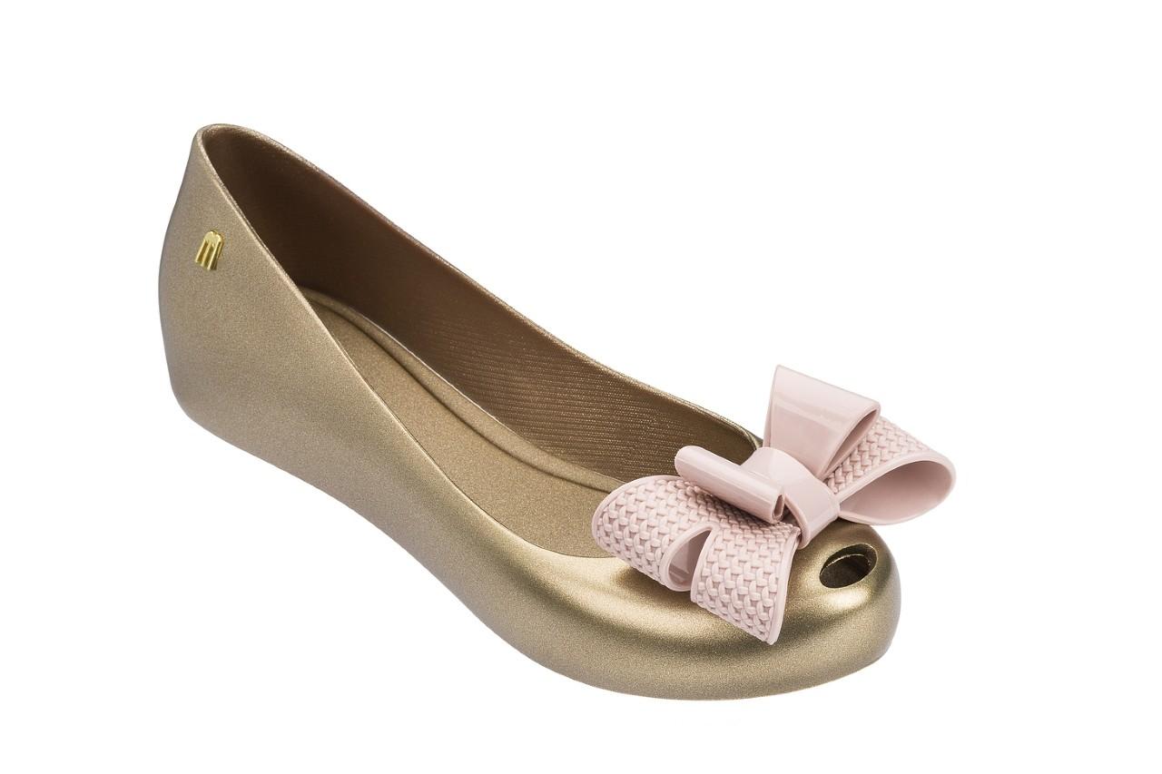 Baleriny melissa ultragirl sweet xv ad gold pink, złoty, guma - melissa - nasze marki 4