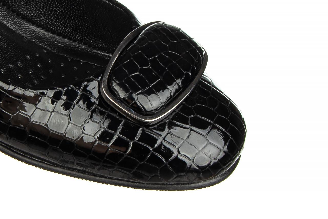 Baleriny bayla-187 105 black 187013, czarny, skóra naturalna  - bayla - nasze marki 12