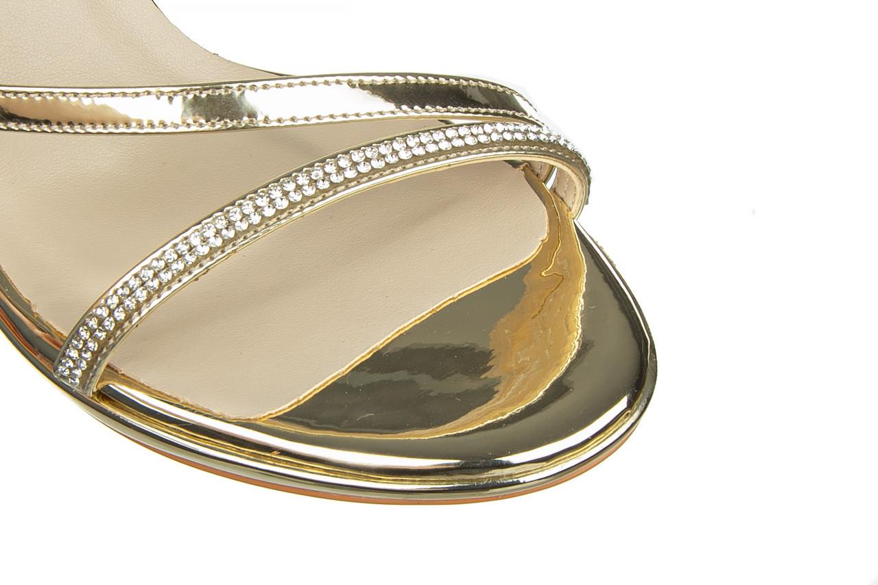 Sandały bayla-187 587-1123 gold 187017, złoty, skóra ekologiczna - bayla - nasze marki 12