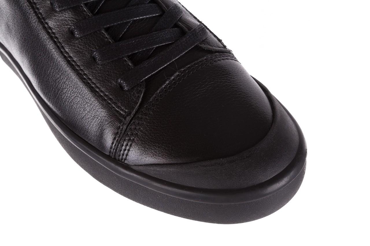 Sneakersy john doubare m5761-1 black, czarny , skóra naturalna  - trendy - mężczyzna 17