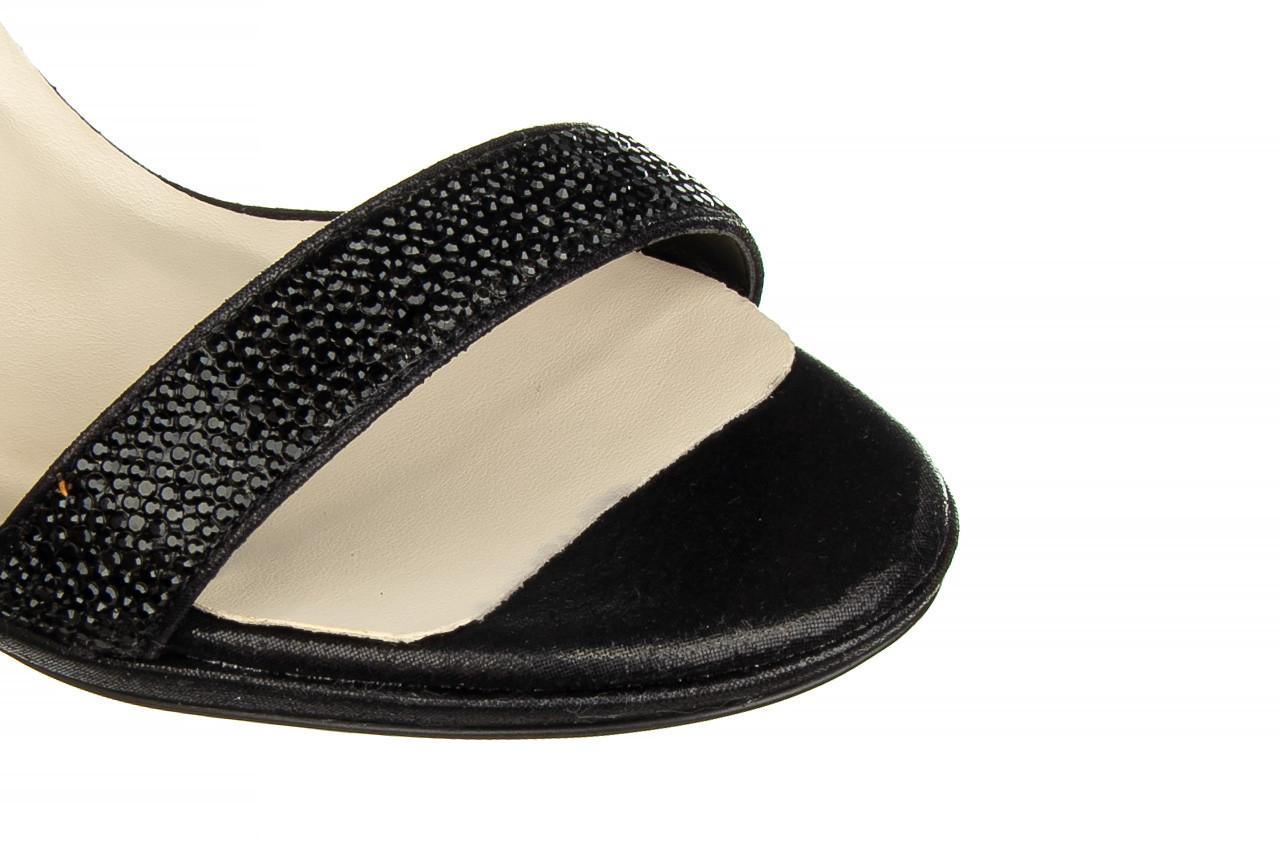 Sandały bayla-187 587-536 black 187019, czarny, skóra ekologiczna  - sandały - buty damskie - kobieta 12