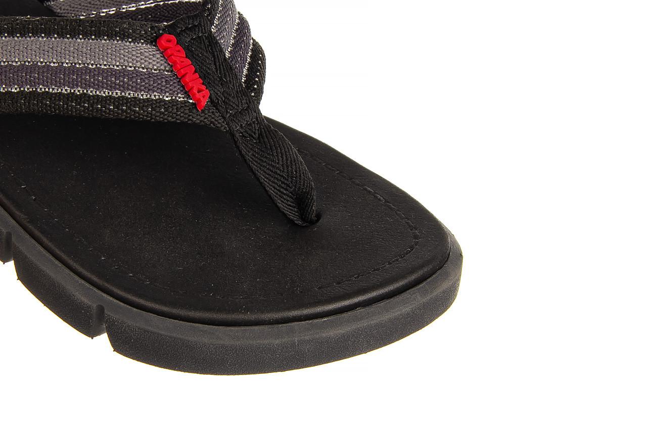 Klapki azaleia 451-op450 black, czarny, materiał  - azaleia - nasze marki 11