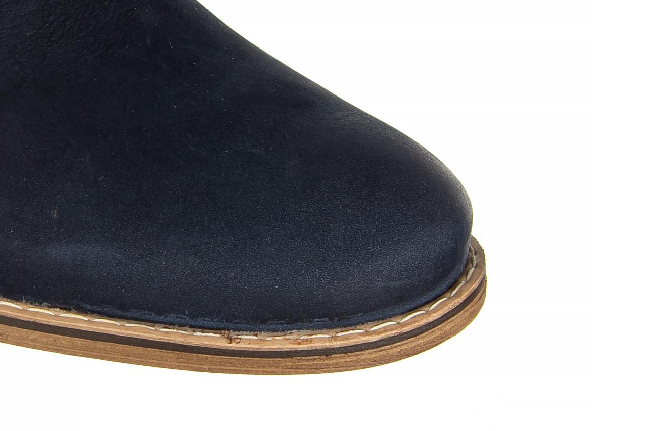 Półbuty bayla-081 831 juma blue ax, granat, skóra naturalna  - wizytowe - półbuty - buty męskie - mężczyzna 13