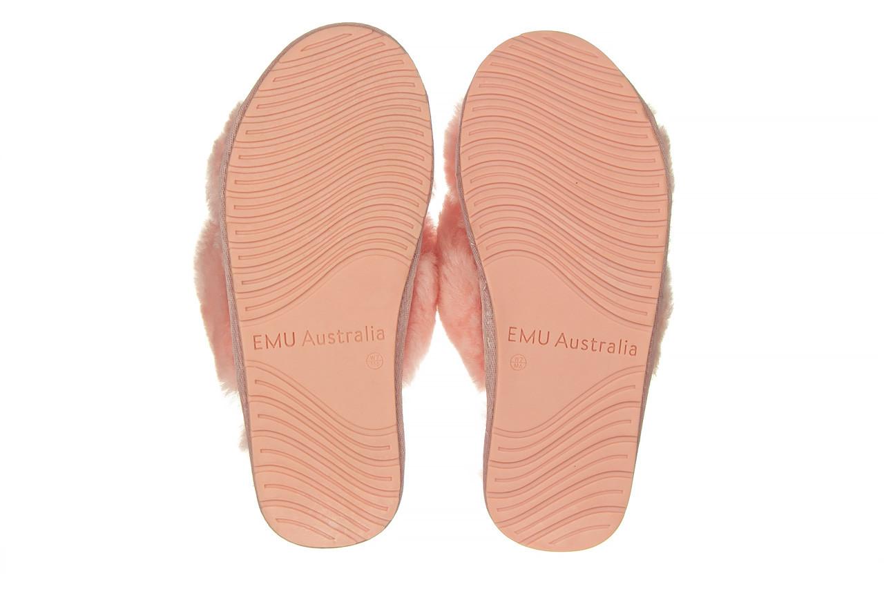 Kapcie emu mayberry baby pink 119132, róż, futro naturalne  - nowości 12