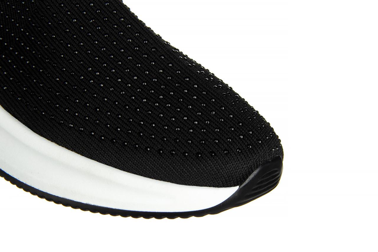 Sneakersy sca'viola l-15 black 047194, czarny, materiał - trendy - kobieta 14