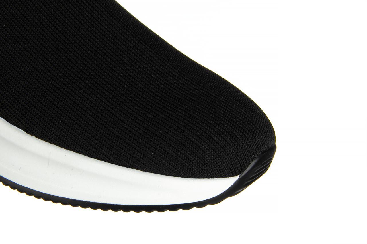 Sneakersy sca'viola l-16 black 047195, czarny, materiał - jesień-zima 2020/2021 14
