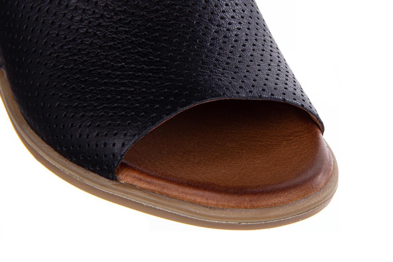 Klapki bayla-161 061 1609 black 161202, czarny, skóra naturalna  - bayla - nasze marki 13