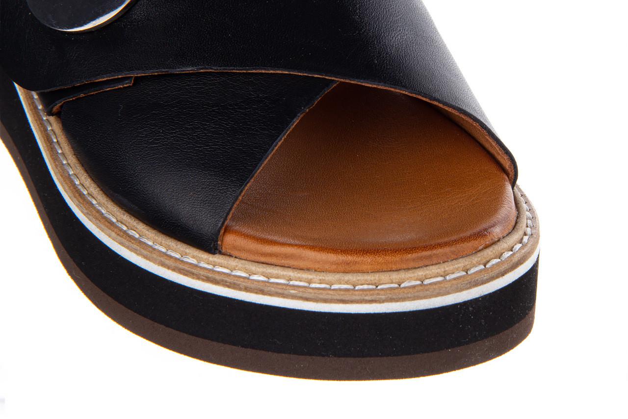 Klapki bayla-161 105 2006 black 161211, czarny, skóra naturalna  - bayla - nasze marki 13