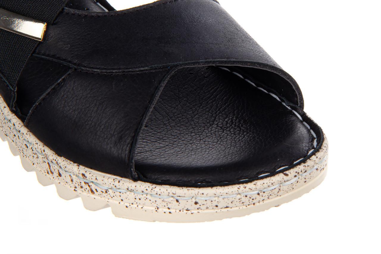 Sandały bayla-161 016 901 black 161191, czarny, skóra naturalna  - bayla - nasze marki 13