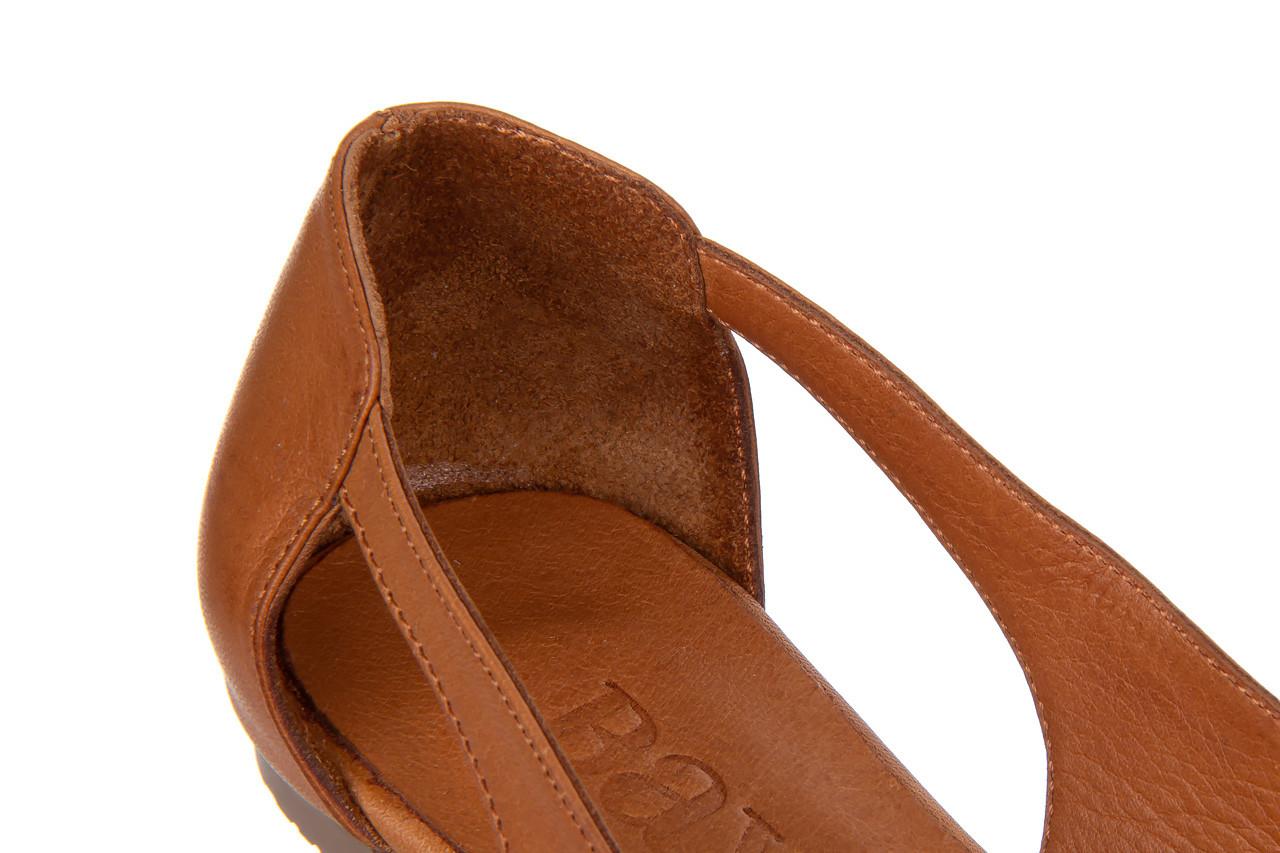 Baleriny bayla-161 093 6047 coconut 161209, brąz, skóra naturalna  - skórzane - baleriny - buty damskie - kobieta 13