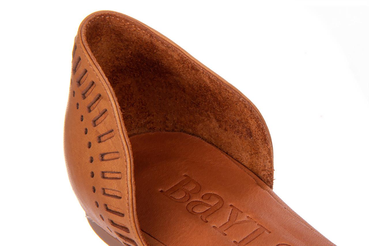 Baleriny bayla-161 138 1102 coconut 161216, brąz, skóra naturalna  - skórzane - baleriny - buty damskie - kobieta 14