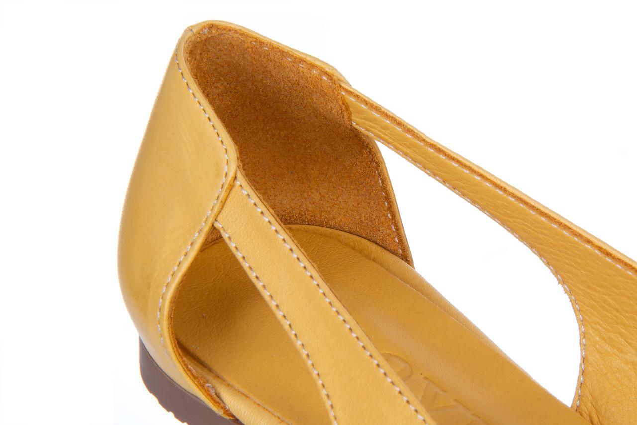 Baleriny bayla-161 138 1560 noce 161221, żółty, skóra naturalna  - bayla - nasze marki 13