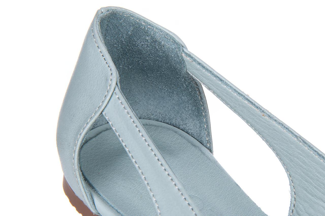 Baleriny bayla-161 138 1560 fresh 161220, niebieski, skóra naturalna - skórzane - baleriny - buty damskie - kobieta 13