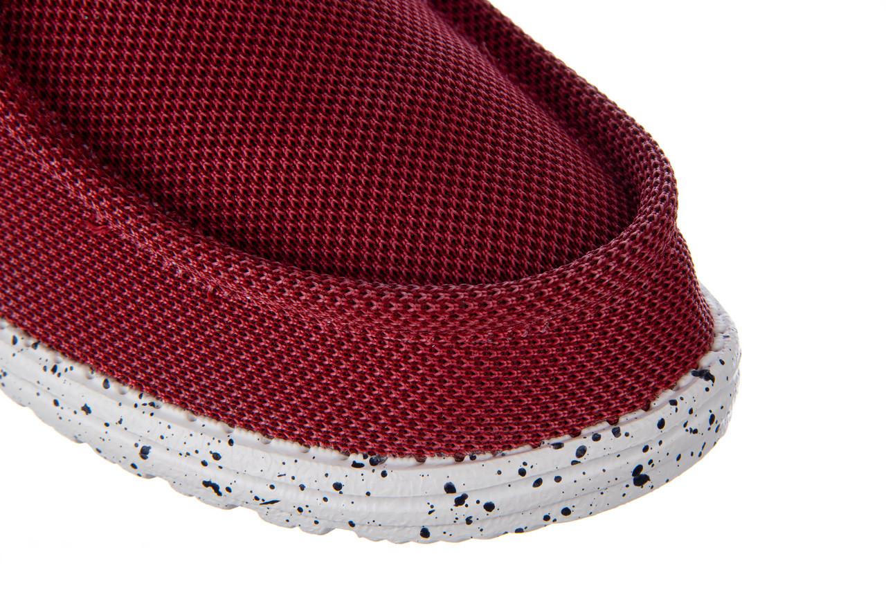 Półbuty heydude wally hawk lava grey 003200, czerwony, materiał - trendy - mężczyzna 13