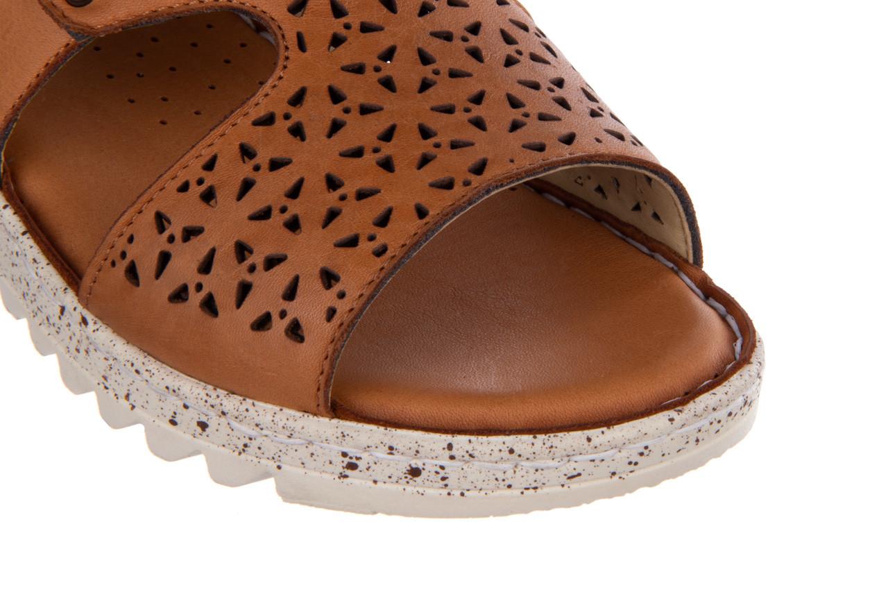 Sandały bayla-161 016 966 coconut 161196, brąz, skóra naturalna - bayla - nasze marki 13