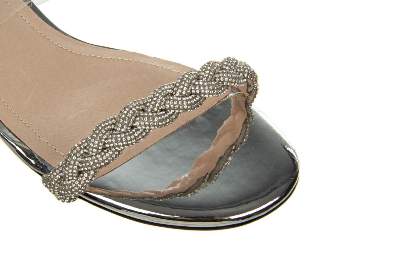 Klapki sca'viola b-205 silver 047180, srebro, silikon - klapki - buty damskie - kobieta 15