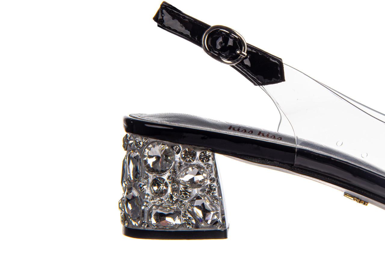Sandały sca'viola g-25 black 047187, czarny, silikon 16