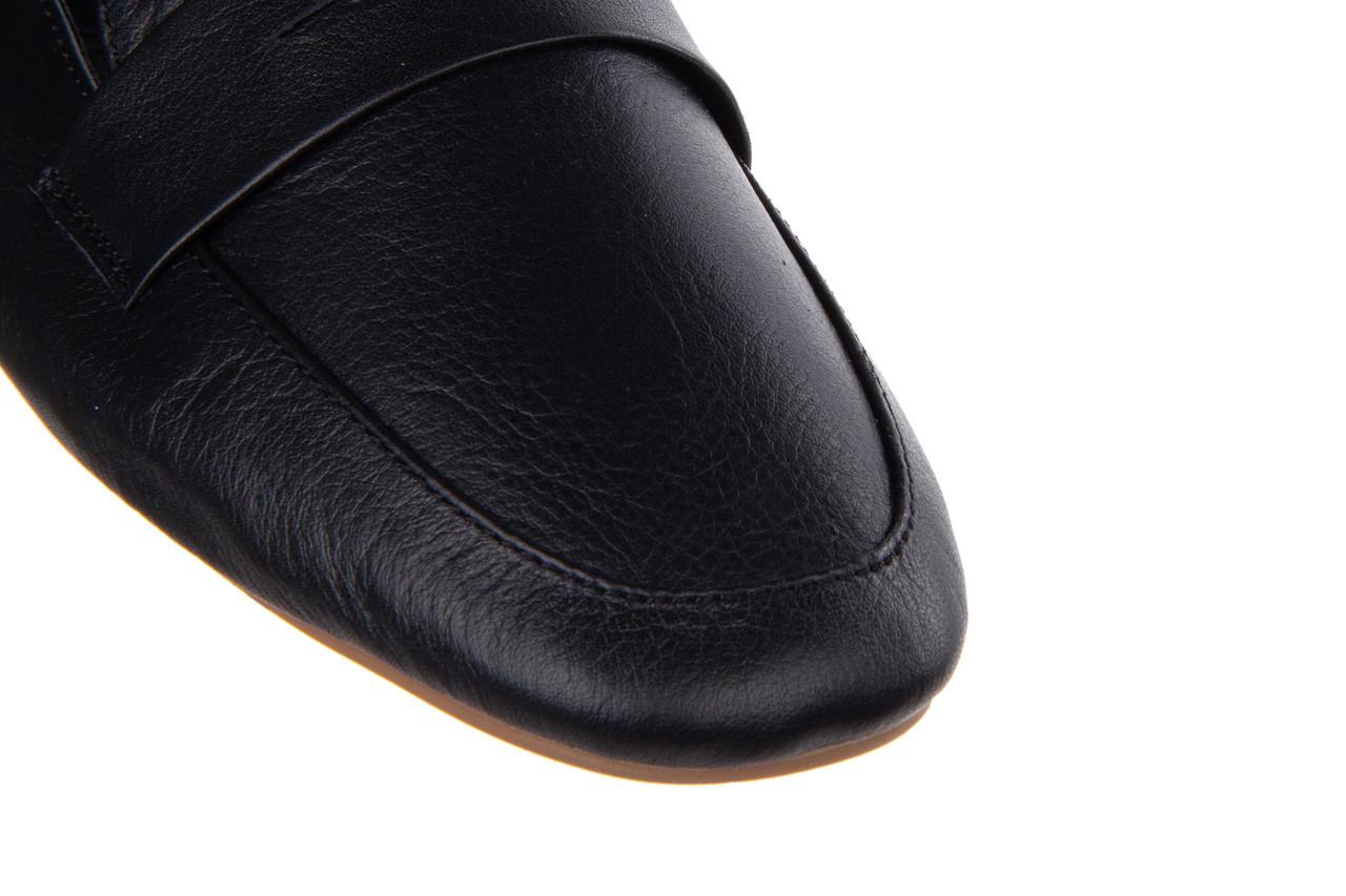 Półbuty bayla-161 138 4060 black 161222, czarny, skóra naturalna  - wsuwane - półbuty - buty damskie - kobieta 13