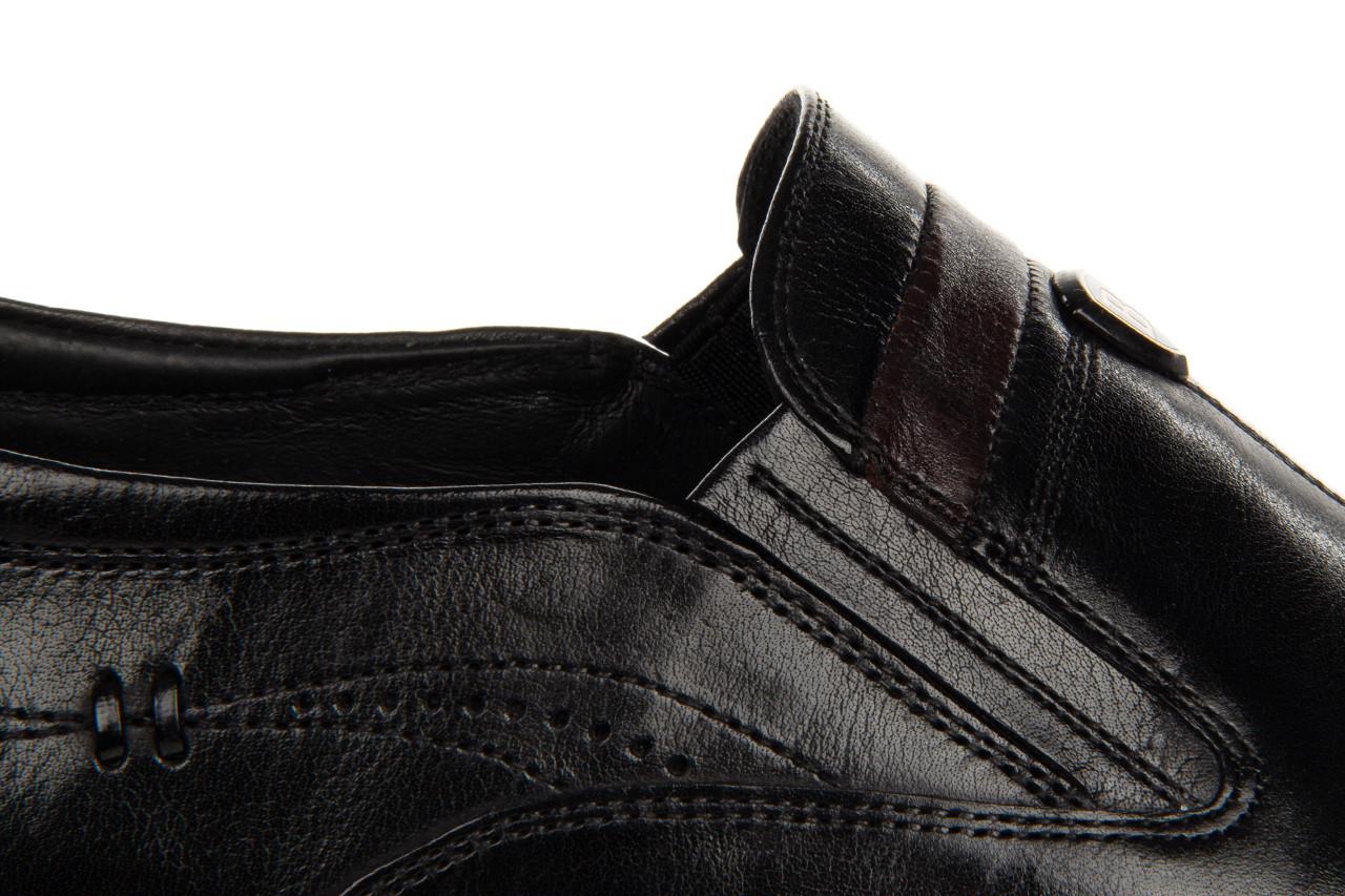 Półbuty john doubare ygc-z253-351-1 black 104176, czarny, skóra naturalna  - nowości 19