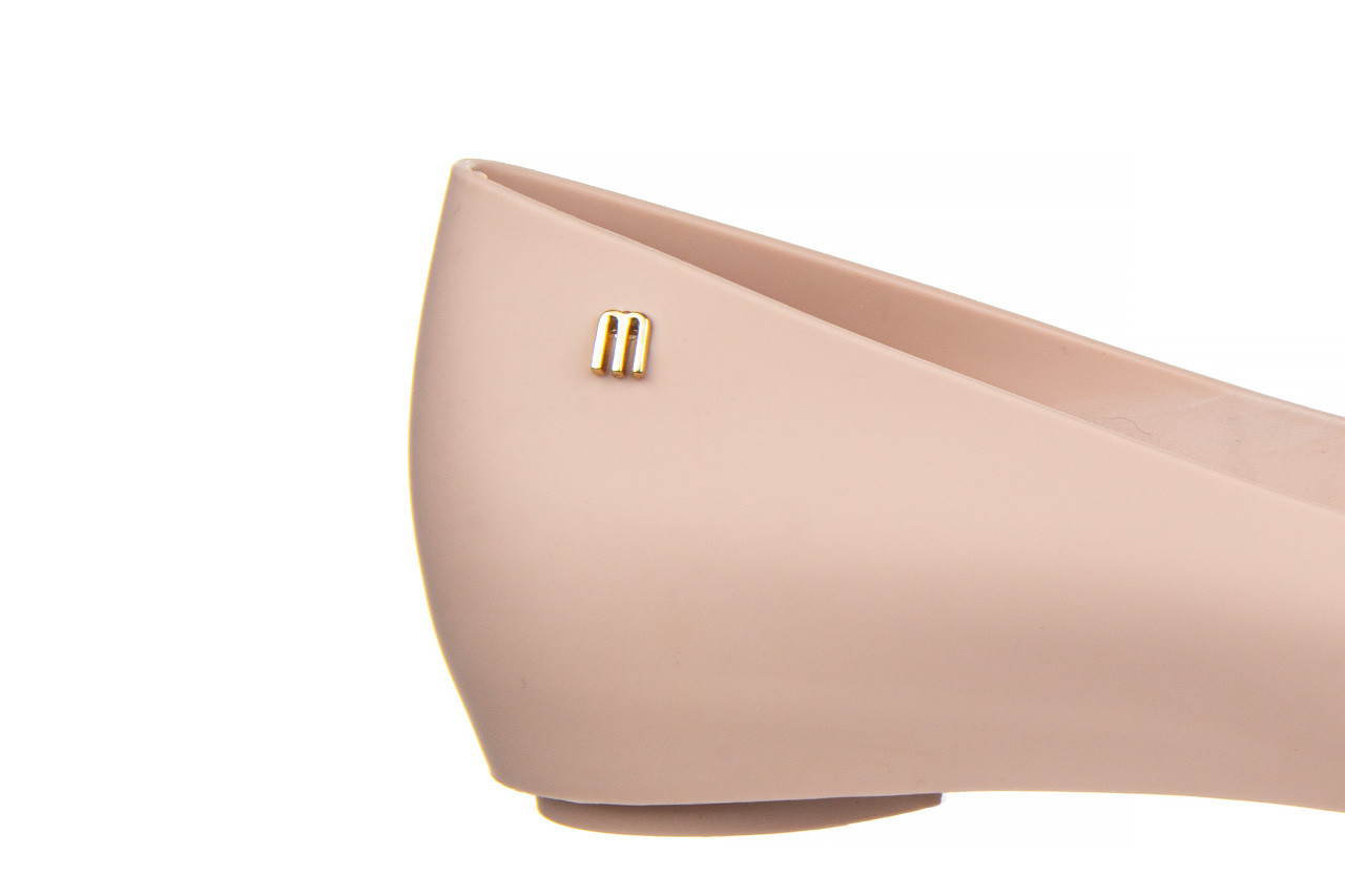 Baleriny melissa ultragirl basic ad light pink 21 010373, róż, guma  - gumowe - baleriny - buty damskie - kobieta 15