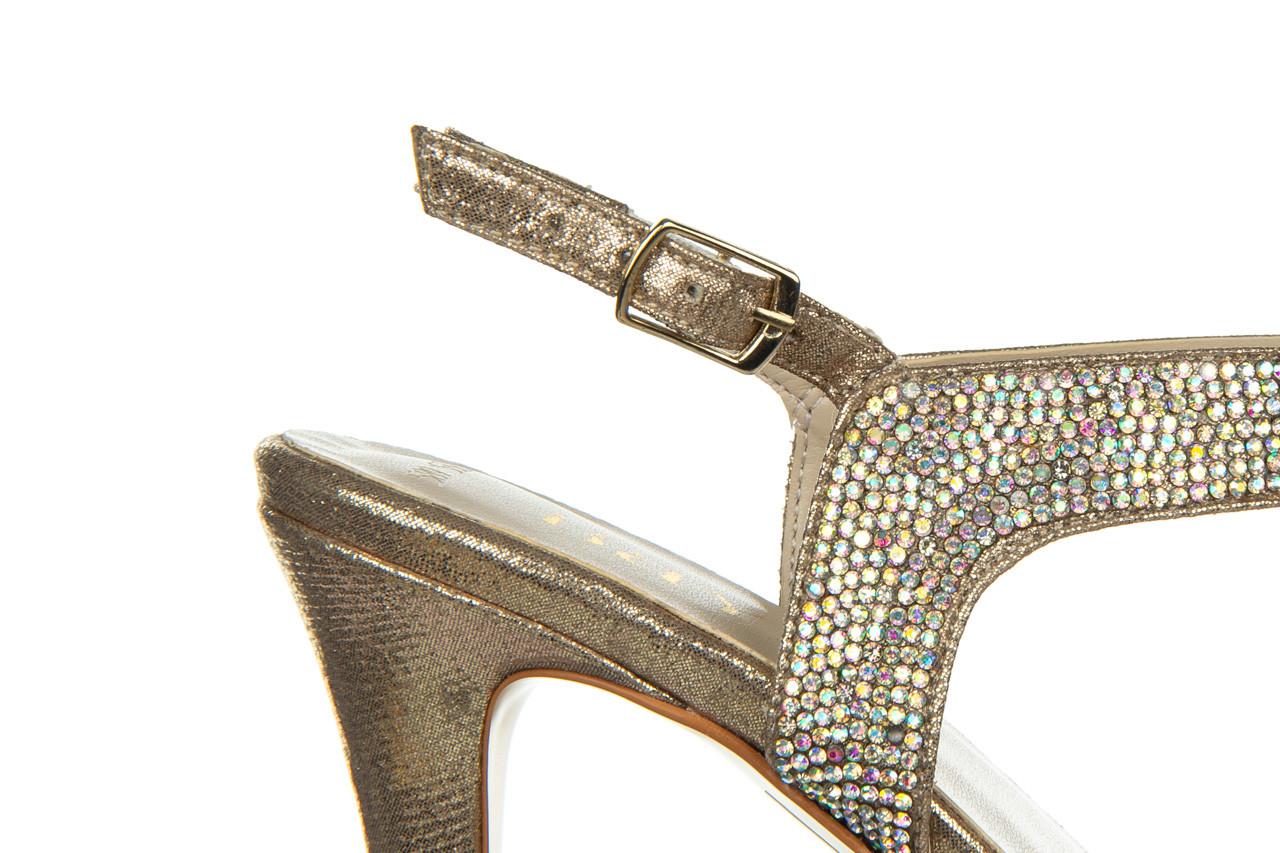 Sandały bayla-187 587-536 gold 187020, złoty, skóra ekologiczna 13