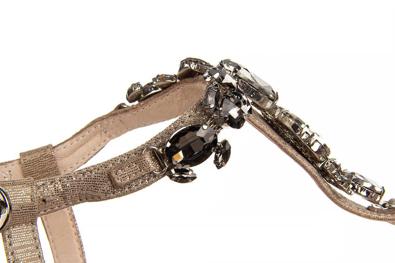 Sandały bayla-018 15472-x2 light grey, szary, skóra naturalna  - bayla - nasze marki 13