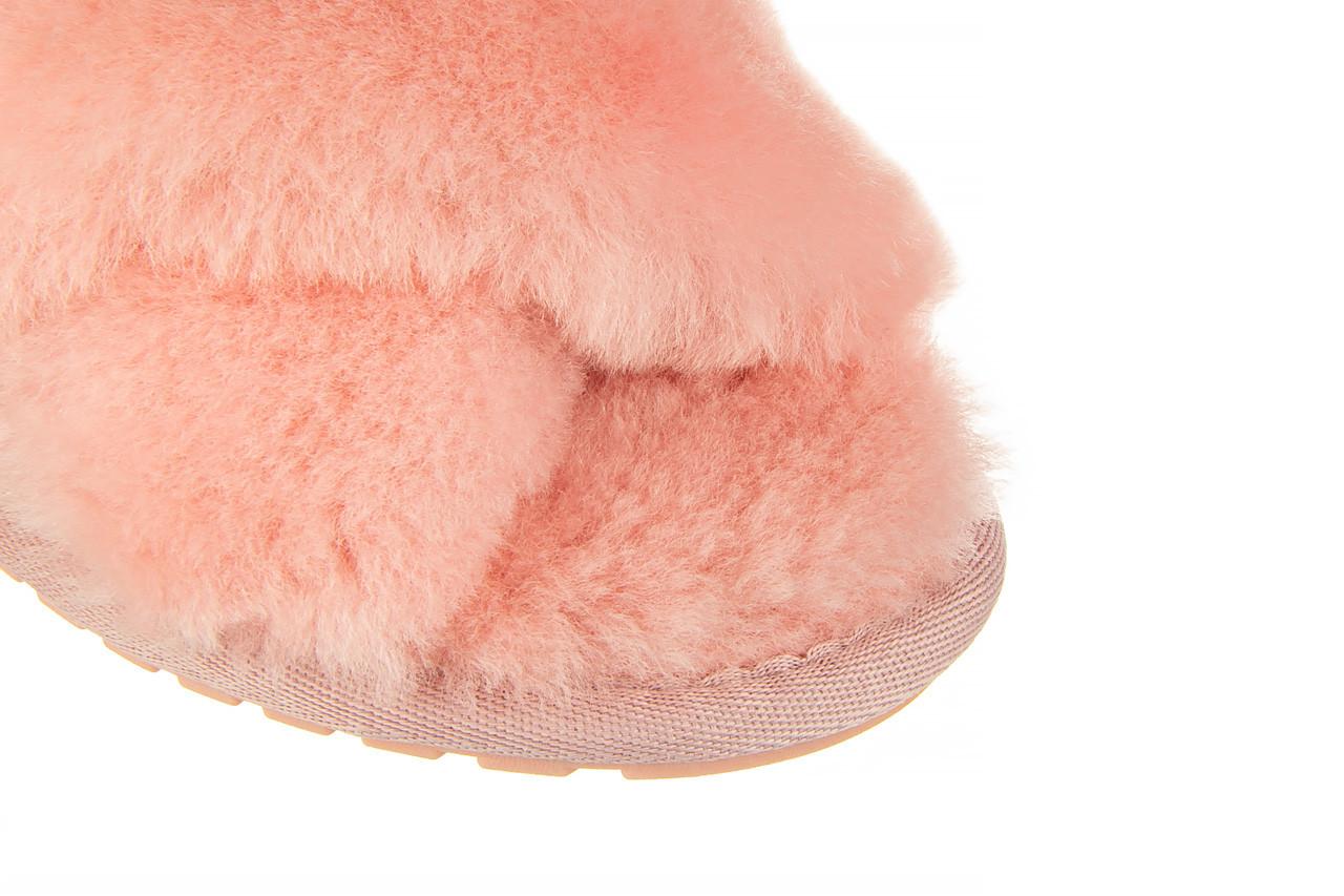 Kapcie emu mayberry baby pink 119132, róż, futro naturalne  - nowości 13