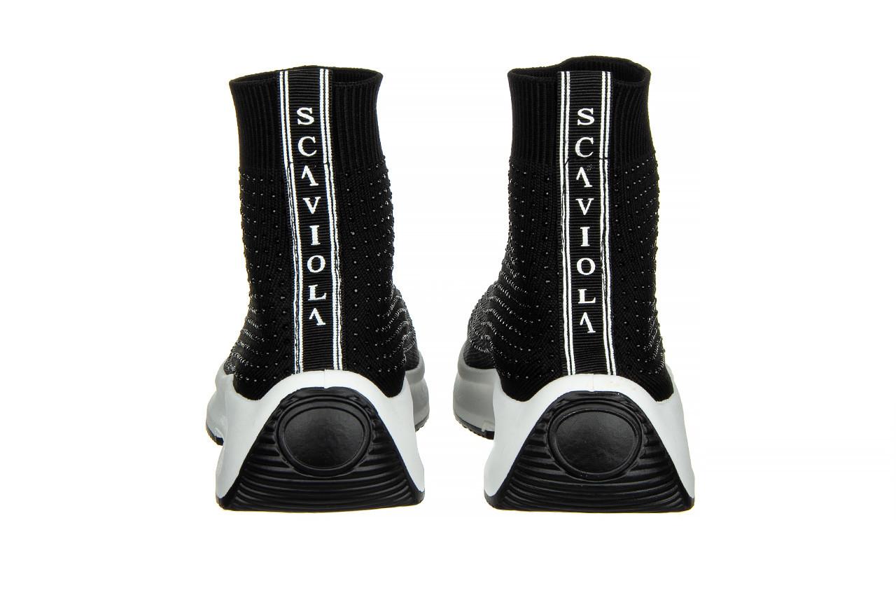 Sneakersy sca'viola l-15 black 047194, czarny, materiał - trendy - kobieta 13