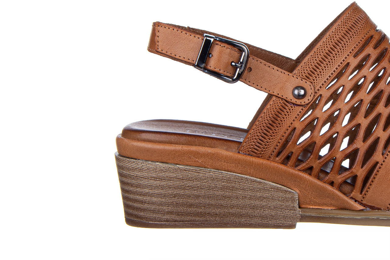 Sandały bayla-161 061 1600 tan 161201, brąz, skóra naturalna  - bayla - nasze marki 14
