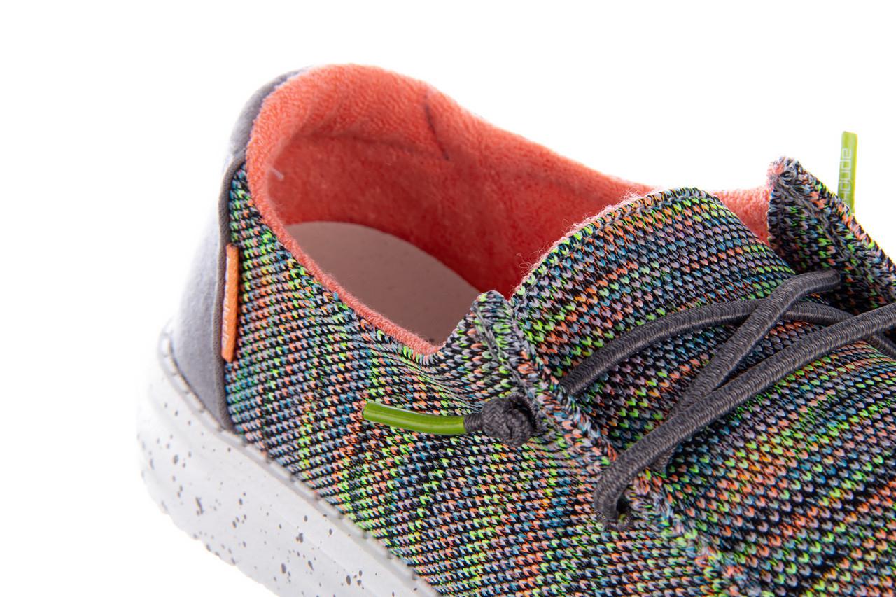 Półbuty heydude wendy sox peacock pink 003213, wielokolorowy, materiał  - półbuty - buty damskie - kobieta 14