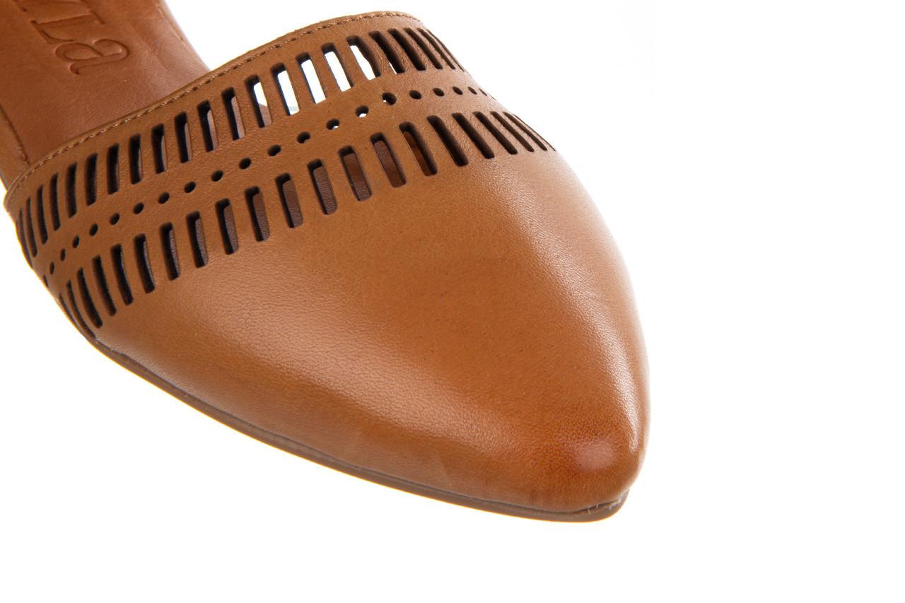 Baleriny bayla-161 138 1102 coconut 161216, brąz, skóra naturalna  - skórzane - baleriny - buty damskie - kobieta 15