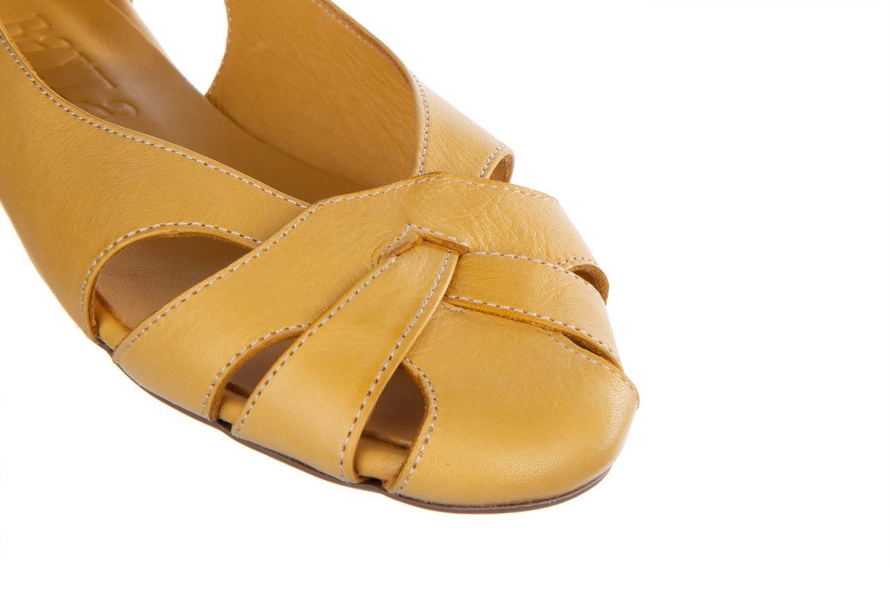 Baleriny bayla-161 138 1560 noce 161221, żółty, skóra naturalna  - bayla - nasze marki 14
