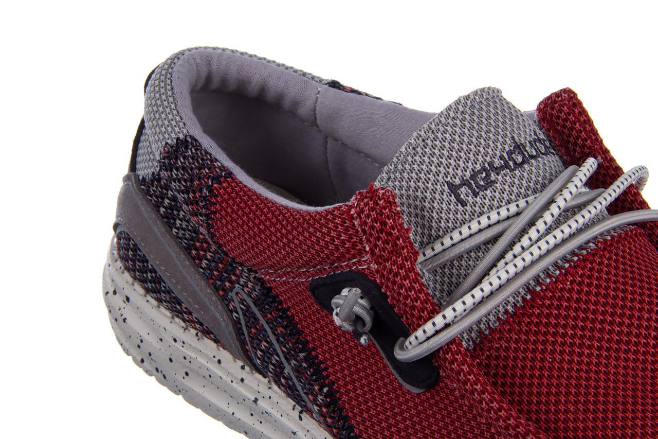 Półbuty heydude wally hawk lava grey 003200, czerwony, materiał - trendy - mężczyzna 15