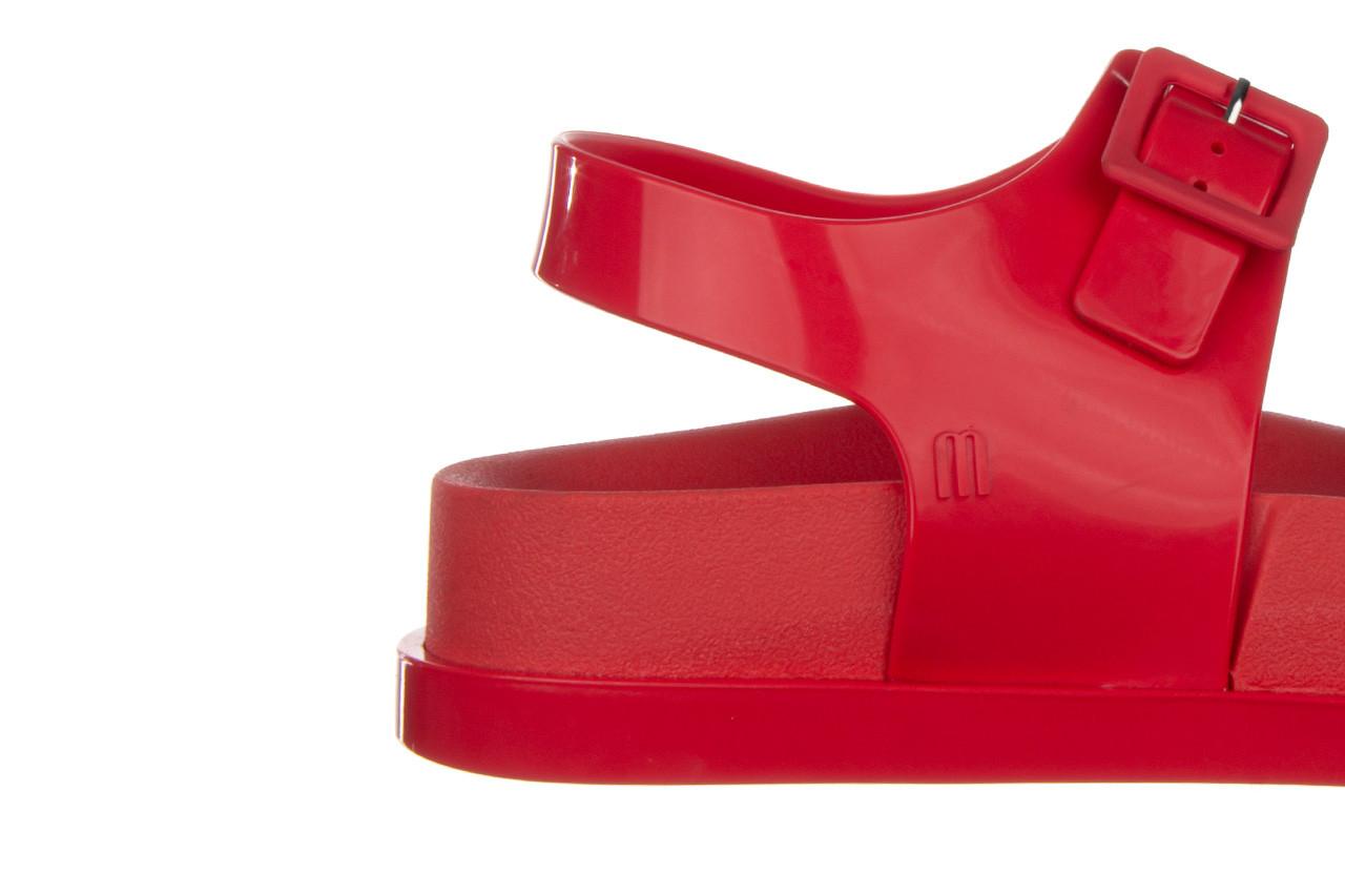 Sandały melissa wide platform ad red 010363, czerwony, guma - nowości 14