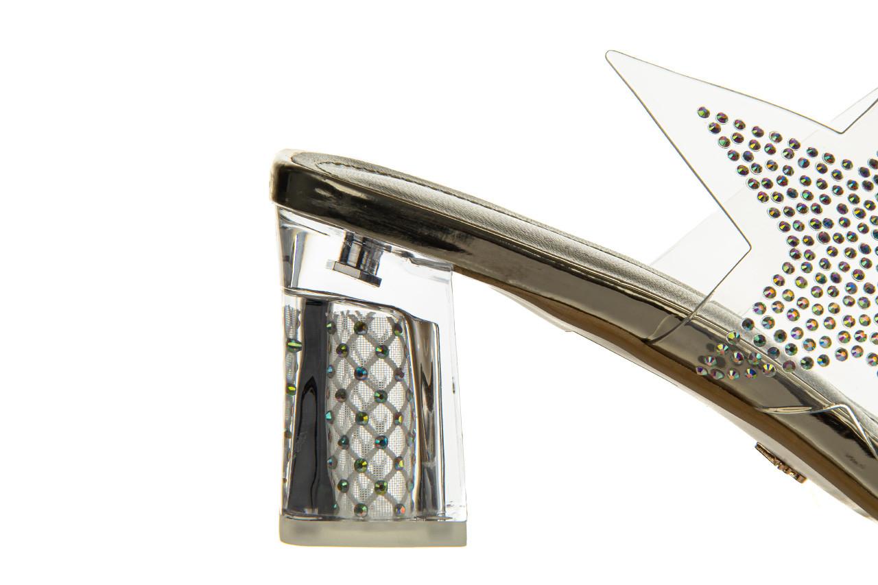 Klapki sca'viola g-59 gold 047189, złoty, silikon - klapki - buty damskie - kobieta 16