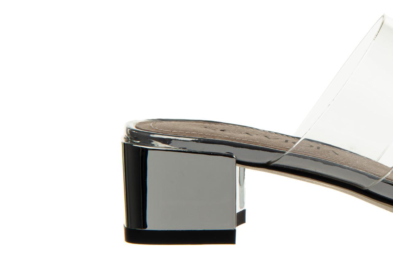 Klapki sca'viola b-205 silver 047180, srebro, silikon - klapki - buty damskie - kobieta 17