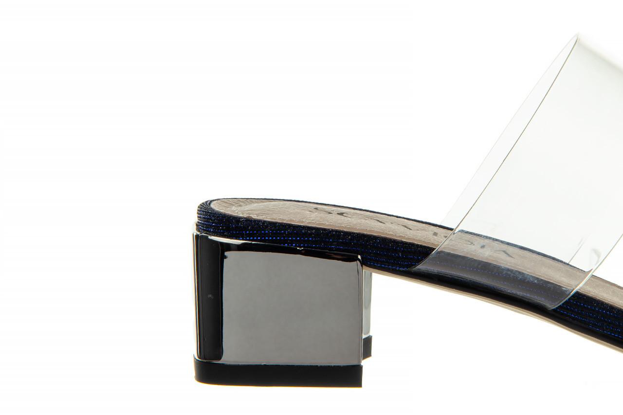 Klapki sca'viola b-204 d blue 047179, granat, silikon  - klapki - buty damskie - kobieta 15
