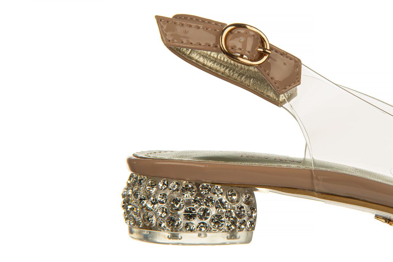 Sandały sca'viola g-15 l pink 21 047182, róż, silikon - na obcasie - sandały - buty damskie - kobieta 16