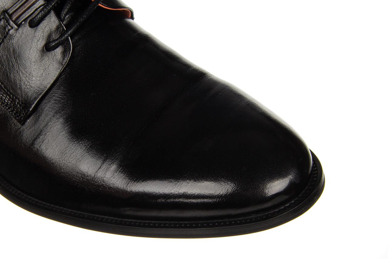 Półbuty john doubare q13e-s45-a78 black 104172, czarny, skóra naturalna  - nowości 15