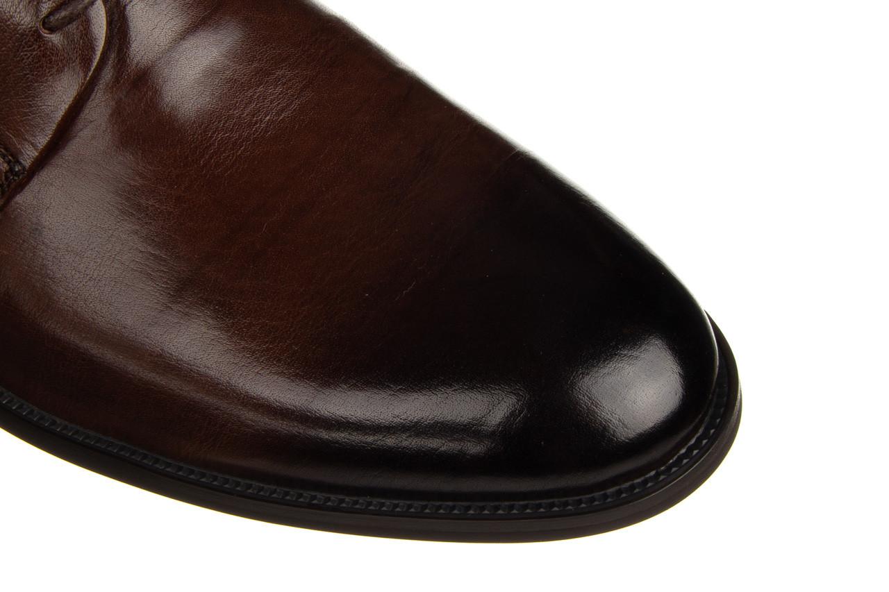 Półbuty john doubare q13e-s45-a77 coffee 104171, brąz, skóra naturalna  - wizytowe - półbuty - buty męskie - mężczyzna 18