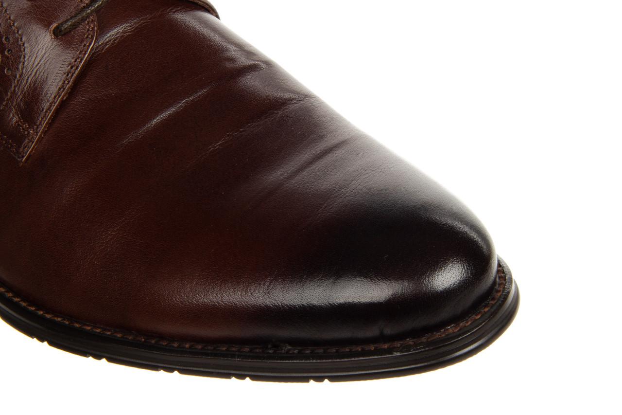 Półbuty brooman b-802-189 coffee 104167, brąz, skóra naturalna  - nowości 19