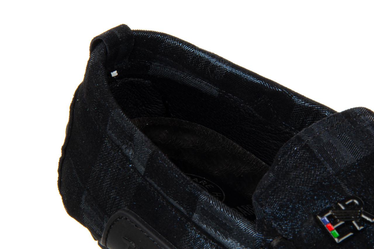 Mokasyny john doubare y198-109 black 104177, czarny, skóra naturalna  - nowości 16