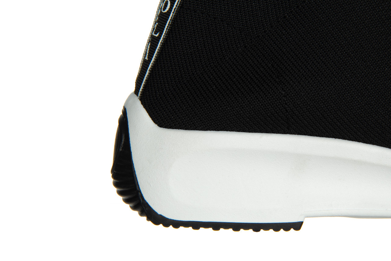 Sneakersy sca'viola l-16 black 047195, czarny, materiał - jesień-zima 2020/2021 15