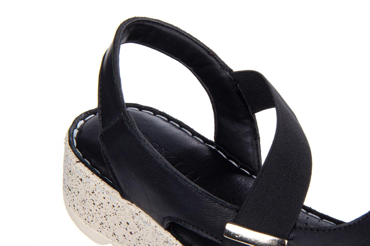 Sandały bayla-161 016 901 black 161191, czarny, skóra naturalna  - bayla - nasze marki 14