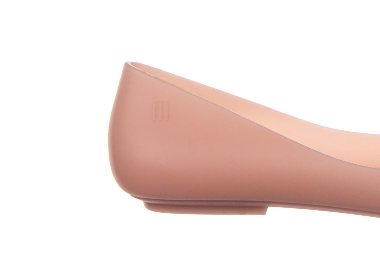 Baleriny melissa pointy iv ad pink 010349, róż, guma - kobieta 12