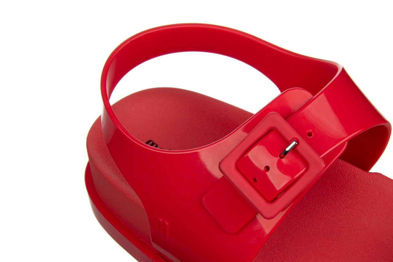 Sandały melissa wide platform ad red 010363, czerwony, guma - nowości 15