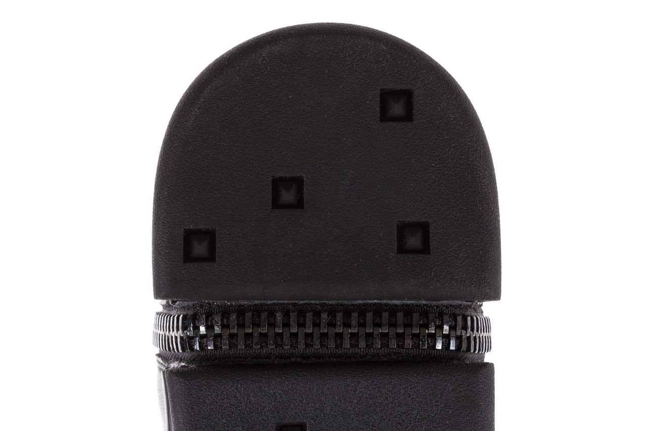 Sneakersy john doubare m5761-1 black, czarny , skóra naturalna  - trendy - mężczyzna 19