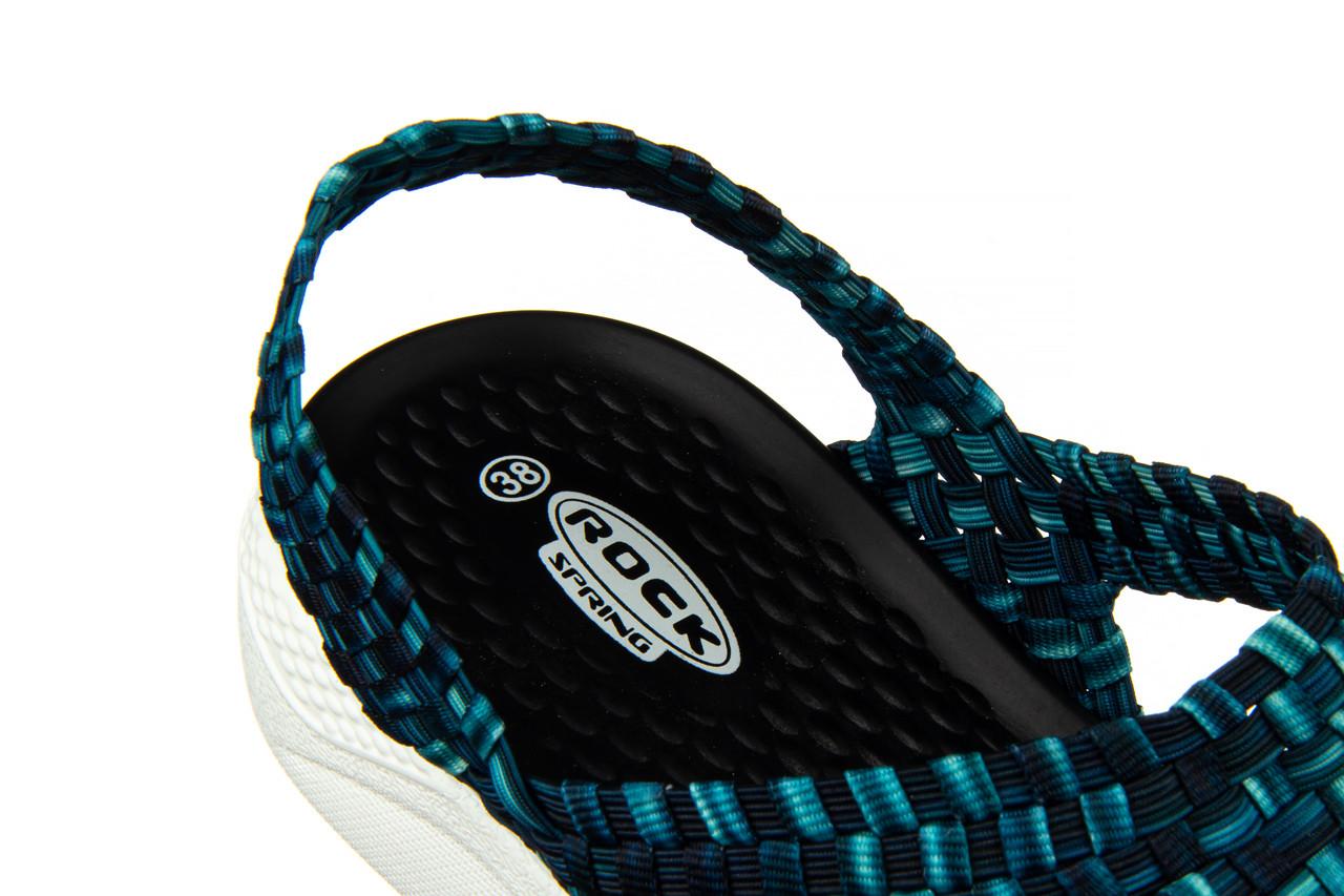 Sandały rock etruria indigo smoke 032832, niebieski, materiał - rock - nasze marki 15