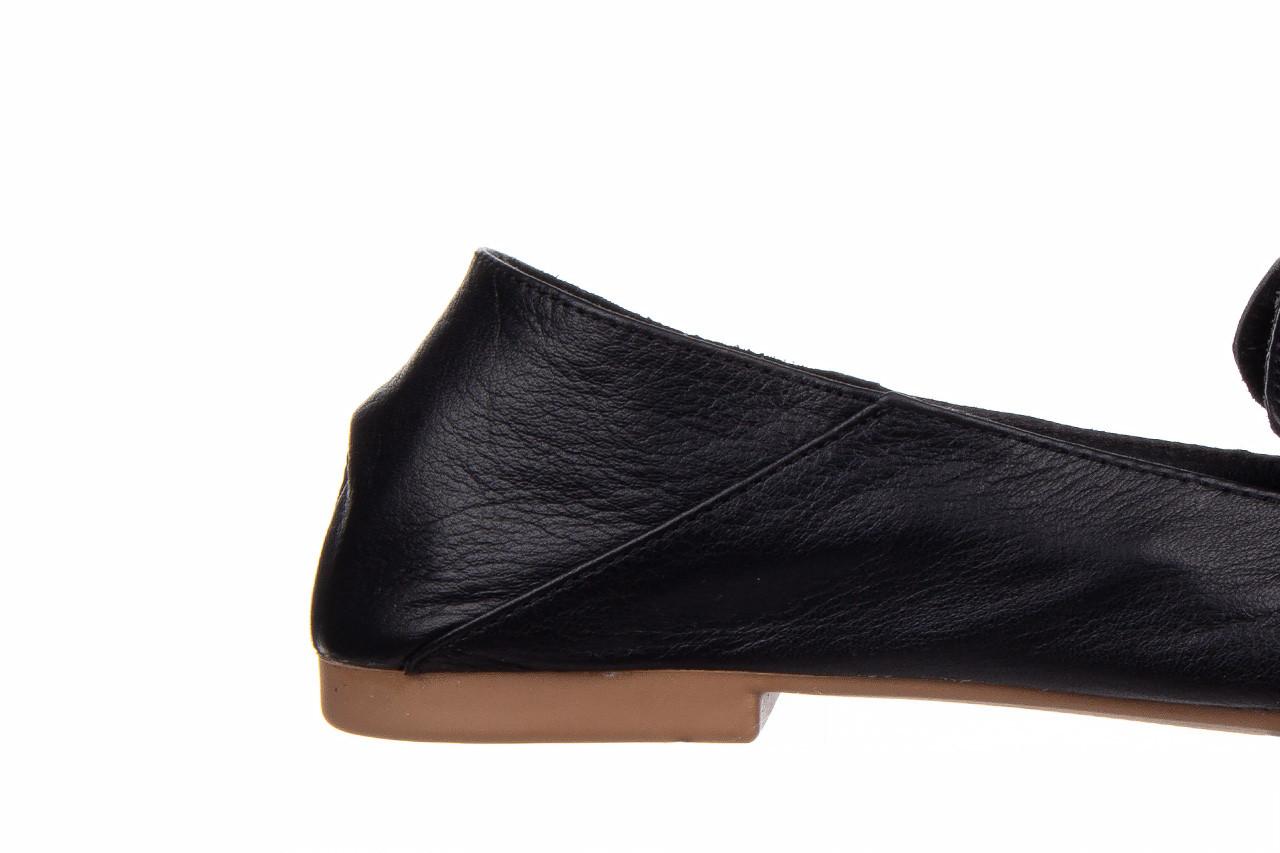 Półbuty bayla-161 138 4060 black 161222, czarny, skóra naturalna  - wsuwane - półbuty - buty damskie - kobieta 15