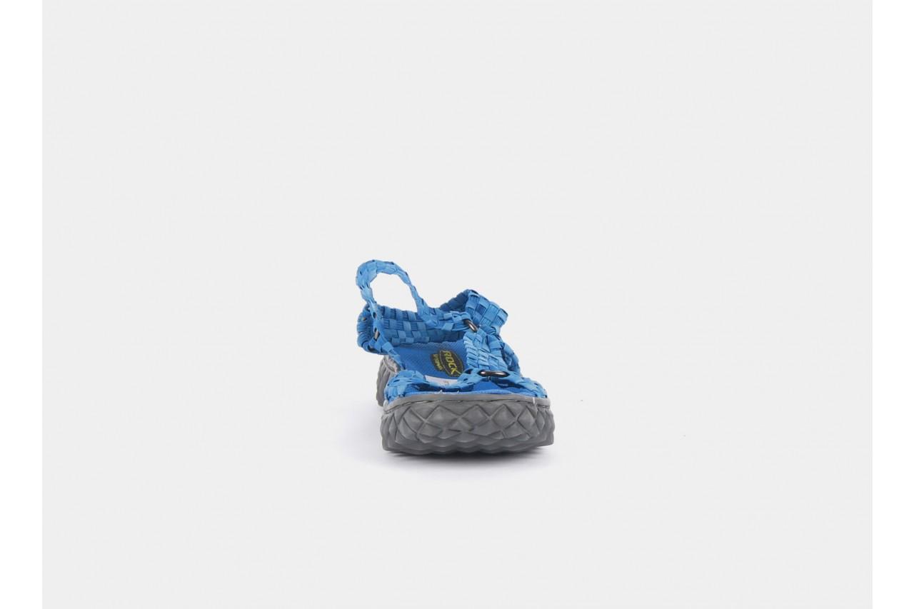 Sandały rock california washed elblue, niebieski, materiał  - rock - nasze marki 6